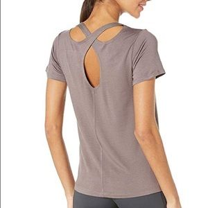Beyond Yoga Over Under Relaxed Tee XS